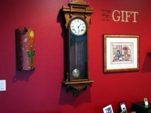 pendulum clock Jim Burton