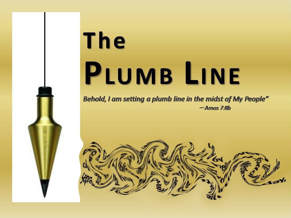 Plumb Line Amos 7 Your Roving Reporter