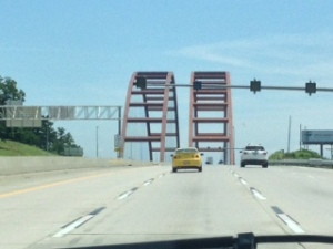 Bridge over MIssissippi, St. Louis