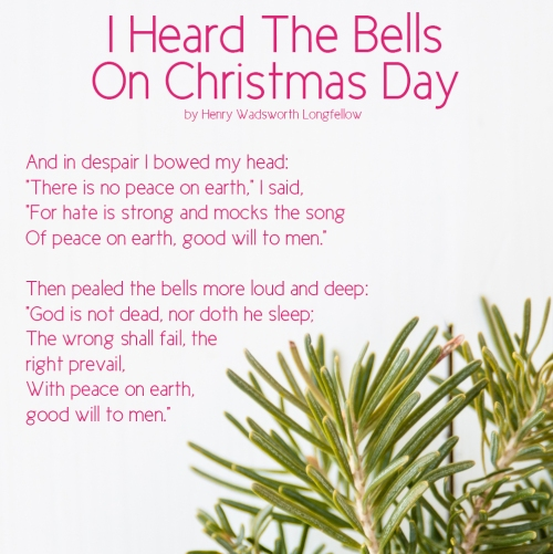 Christmas Day, I Heard the Bells