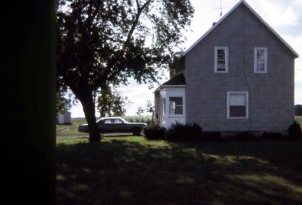 Croswell, MI our farm house 1965-68 2