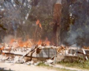 Reggin house burning 1979 1