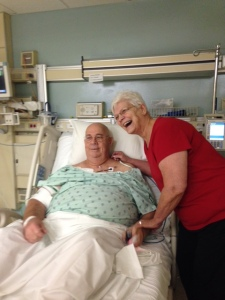 Judie and Jim hospital stay March 2016