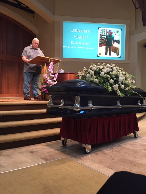 Jeremy's funeral