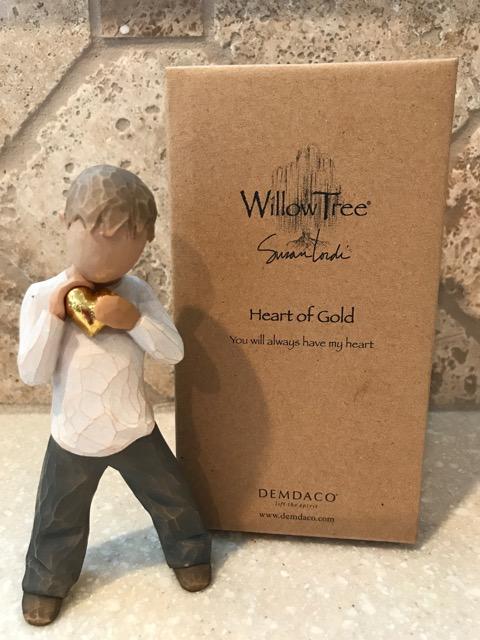 Jeremy, Heart of Gold figurine