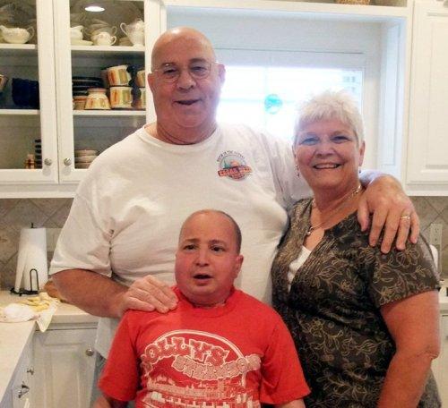 Jeremy, Mom and Dad 40th birthday