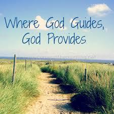 God Gudes, God Provides
