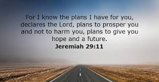 Jeremiah twenty nine, eleven